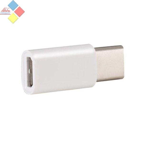 ADAPTADOR 2.0 MICRO USB HEMBRA - TIPO C MACHO