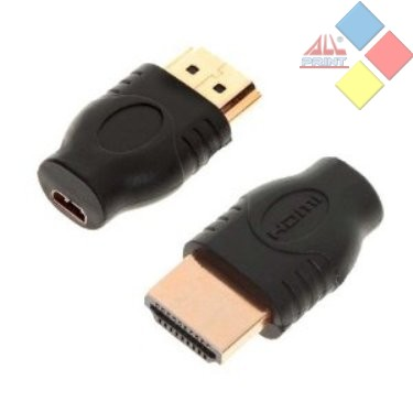 ADAPTADOR HDMI MACHO / MICRO HDMI HEMBRA ***LIQUIDACION***