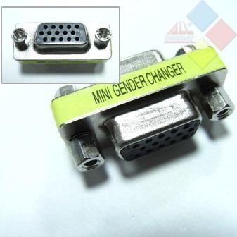 ADAPTADOR VGA HDB15 HEMBRA-VGA HDB15 HEMBRA