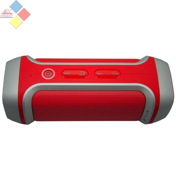 ALTAVOCES TALIUS TA-28BT BLUETOOH 4.0 MICRO SD FM 10W POWERBANK ROJO