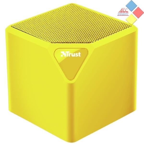 ALTAVOZ BLUETOOTH  TRUST PRIMO 22486 MICRO SD / USB NEON AMARILLO