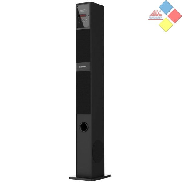 ALTAVOZ TORRE OCASION ICONNEX 60W FM / USB / AUX / MANDO / BLUETOOH NEGRA