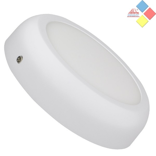 APLIQUE REDONDO BLANCO LED PARA TECHO O PARED 18W DESIGN BLANCO FRIO 6000K