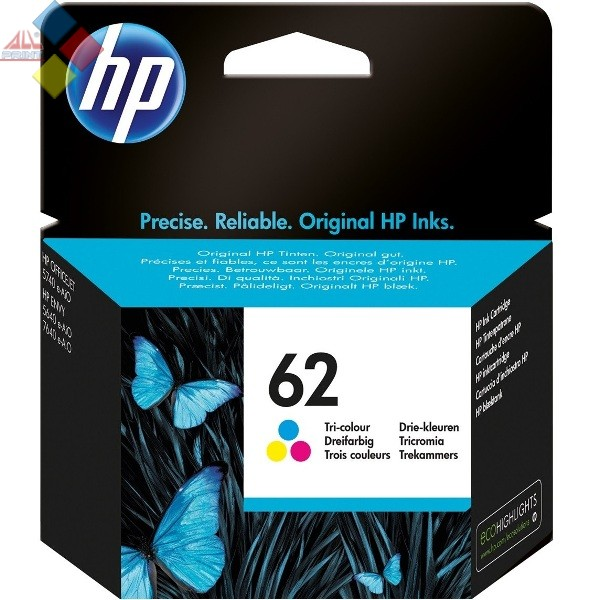 C2P06AE - HP Nº62 COLOR ENVY 5640 / 7640 / OFFICEJET 5740 / 5742