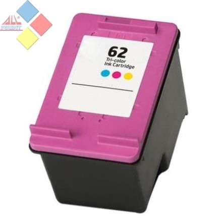C2P06AE - RECICLADO HP Nº62XL COLOR ENVY 5640 / 7640 / OFFICEJET 5740 / 5742 15 ml.