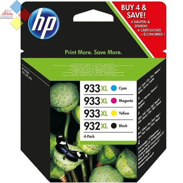 C2P42AE - PACK TINTA  HP Nº932XL NEGRO Y Nº 933XL (4 UND.) COLOR