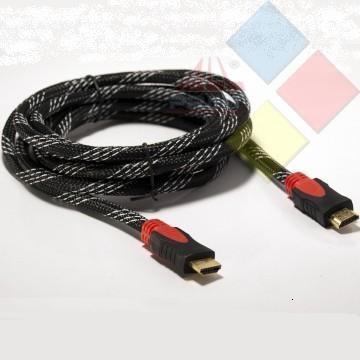 CABLE HDMI MACHO / HDMI MACHO 1.8M V2.0 3GO CONECTORES DORADOS