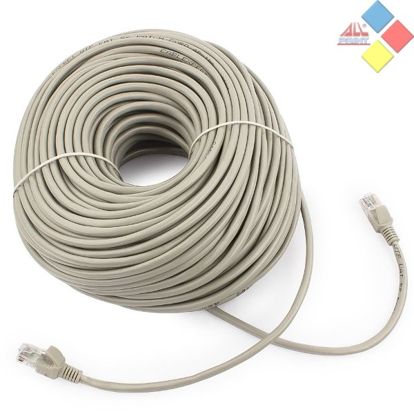 CABLE RED UTP RJ45 50M CAT.5 CABLEXPERT