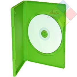 CAJA DVD SIMPLE VERDE CONFORT-PACK ***LIQUIDACION***