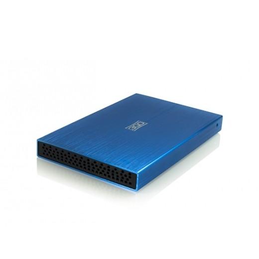 """CAJA EXTERNA 2.5"""" SATA USB 2.0 3GO AZUL"""
