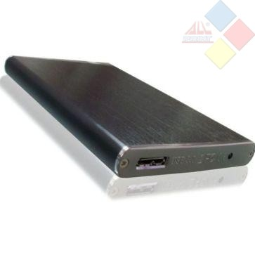 "CAJA EXTERNA 2,5"" SATA USB 3.0 3GO NEGRA"