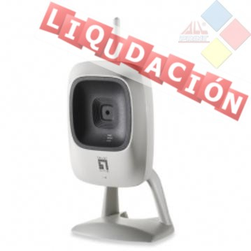 "CAMARA IP WIRELES LEVEL ONE WCS-0010 ZOOM 4X 1/6"" CMOS ***LIQUIDACION***"