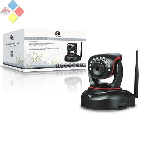 CAMARA IP WIRELESS 1080P CONCEPTRONIC DETECTOR MOVIMIENTO / VISION NOCTURNA / ROTACION CIPCAM1080PTIWL