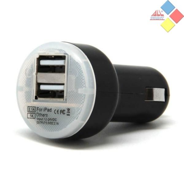CARGADOR DOBLE USB PARA COCHE 12V DC 5V 3,1A
