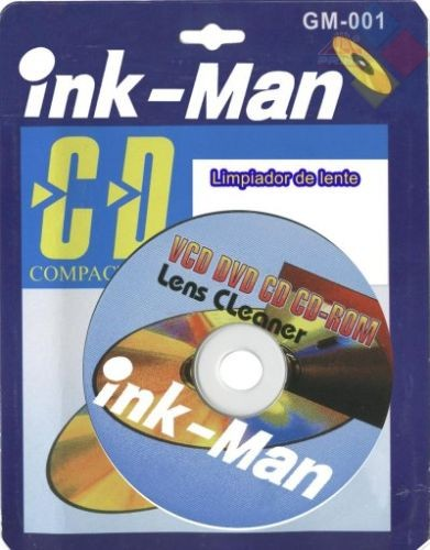 CD LIMPIADOR DE LENTE INK-MAN