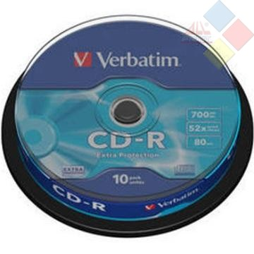CD-R VERBATIM SPINDLE 10 52X