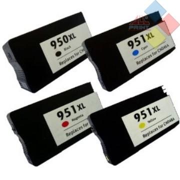 CN046AE - RECICLADO HP Nº951XL AZUL OFFICEJET PRO 8100 / 8600  26 ml