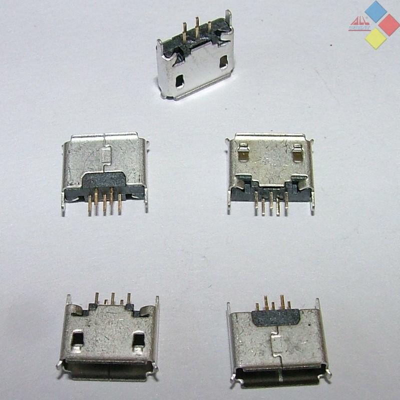 CONECTOR MICRO USB MU18 ***LIQUIDACION***