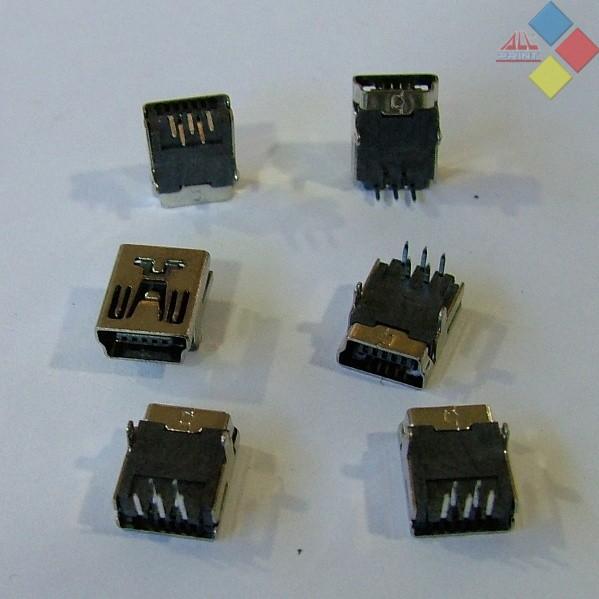 CONECTOR MINI USB MI03 ***LIQUIDACION***