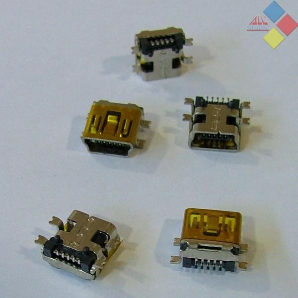 CONECTOR MINI USB MI05  ***LIQUIDACION***