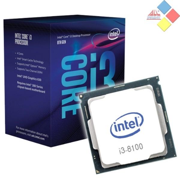 CPU INTEL CORE I3 8100 3.6GHZ S.1151 6MB