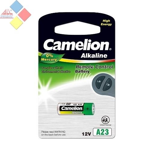Camelion - Pila Alcalina 0% MERCURIO Control Remoto A23/LR23A/GP23A  12V - Blister 1 unid