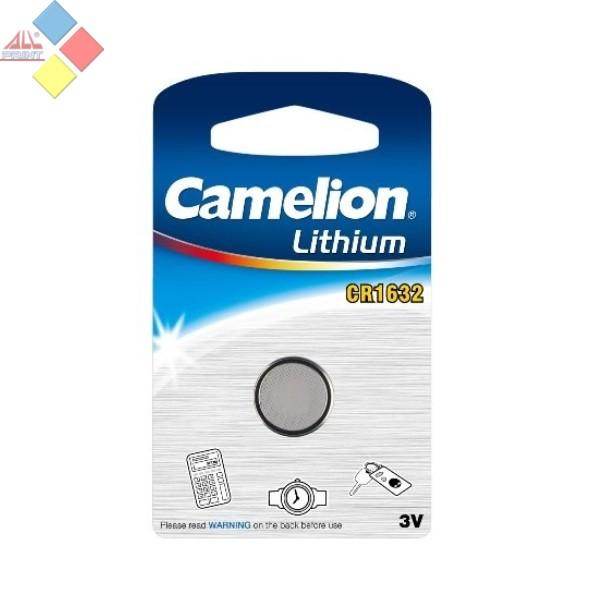 Camelion - Pila boton LITHIUM CR1632/DL1632/ECR1632 - 3V - Blister 1 unid