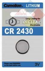 Camelion - Pila boton LITHIUM CR2430/DL2430/5011LC/E-CR2430 - 3V - Blister 1 unid