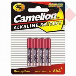 Camelion - Pilas Alcalina Plus Energy AAA / LR03 -Blister 4 u.