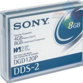 DGD120P - CINTAS DE CASETTE DE DATOS SONY DDS2 4/8GB  ***LIQUIDACION***