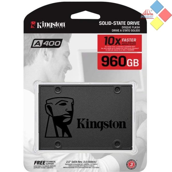 DISCO DURO SSD 2.5 KINGSTON A400 960GB SATA 3 500/450 MB/S