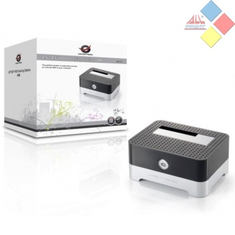 DOCKING STATION CONCEPTRONIC PARA 2.5 Y 3.5 SATA USB 2.0
