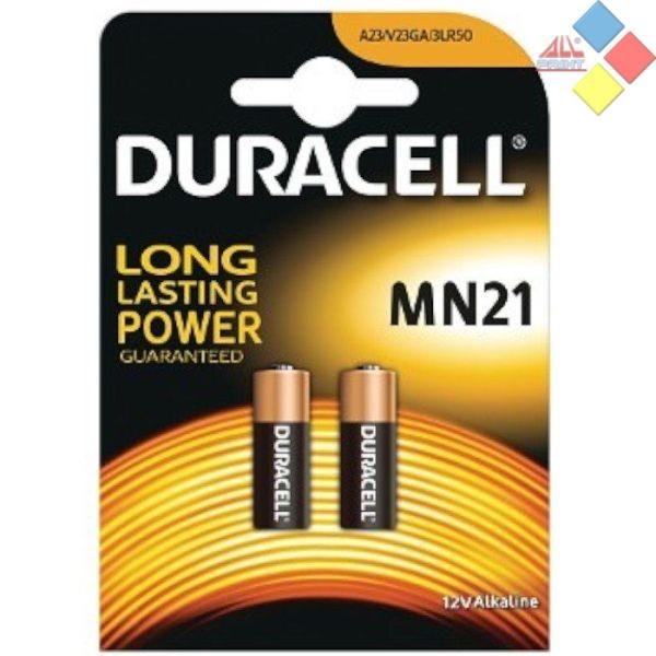 DURACELL - PILA ALCALINA CONTROL REMOTO A23/LR23A/GP23A/MN21/3LR50  12V - BLISTER 2 UNID.