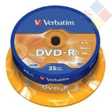 DVD-R VERBATIM SPINDLE 25 16X