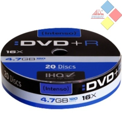 DVD+R INTENSO SPINDLE 20 16X ***LIQUIDACION***