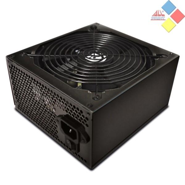 FUENTE ATX TALIUS 600W SILENT 5 IDE / 4 SATA / 2 PCIE 6 PIN NEGRA