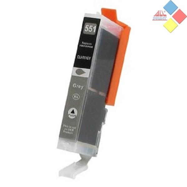 G-CLI551GY XL  - GENERICO CANON PIXMA MG 6350, MG 7150 GRIS 11 ml