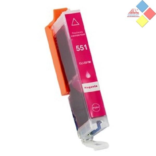 G-CLI551M XL - GENERICO CANON PIXMA IP 7250, MG 5450, MG 6350, MX 925 MAGENTA 13 ml