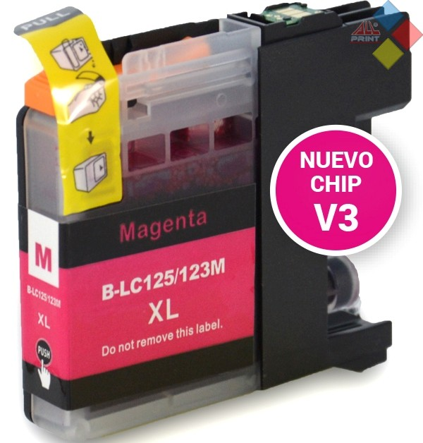 G-LC125M XL V3 - GENERICO BROTHER DCP-J4110DW / MFC-J4410DW MAGENTA  16 ml