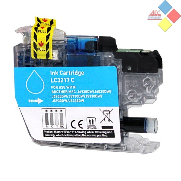 G-LC3217C - GENERICO BROTHER MFC-J6930DW / MFC-J6530DW AZUL 10 ml