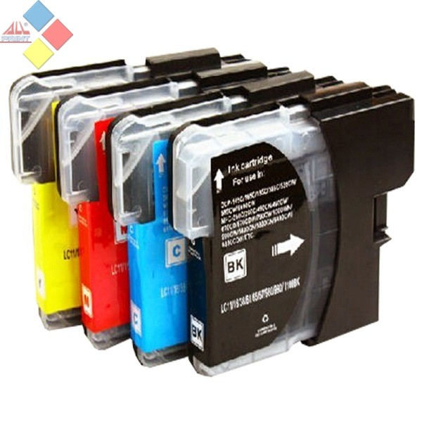 G-LC980/LC1100/LC985C XL - GENERICO AZUL BROTHER DCP145-DCP165-DCP385-MFC250-MFC290