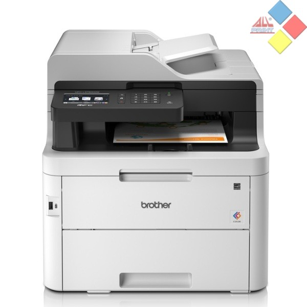 IMPRESORA LASER COLOR MULTIFUNCION A4 BROTHER MFP-L3750CDW 24PM ADF DUPLEX FAX WIFI USB RED