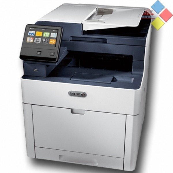 IMPRESORA LASER COLOR MULTIFUNCION A4 XEROX WORKCENTRE 6515DNI 28PM DUPLEX RED WIFI USB FAX