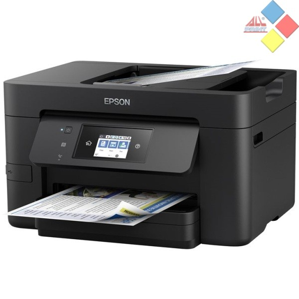 IMPRESORA MULTIFUNCION EPSON WORKFORCE PRO WF-3720DWF A4 20/10PPM FAX DUPLEX USB RED WIFI ADF