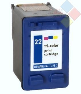 INKPRO C9352A - RECICLADO HP Nº22XL - DESKJET 3940 - PSC 1400 SERIES COLOR 420 PAG