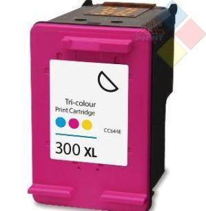 INKPRO CC644E - RECICLADO Nº300XL DESKJET F4280 / F4210 / D2560 COLOR 500 PAG.