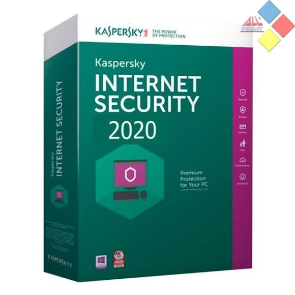 KASPERSKY ANTIVIRUS INTERNET SECURITY 2020 1 LICENCIA 1 AÑO MULTI-DEVICE SIN CD