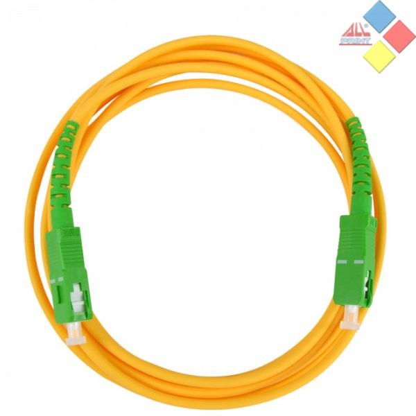 LATIGUILLO FIBRA OPTICA MONOMODO CON CONECTORES SC/APC 2 M. TELEVES