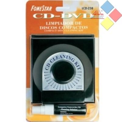 LIMPIADOR DE CD / DVD  REBOL LCD-238 ***LIQUIDACION***