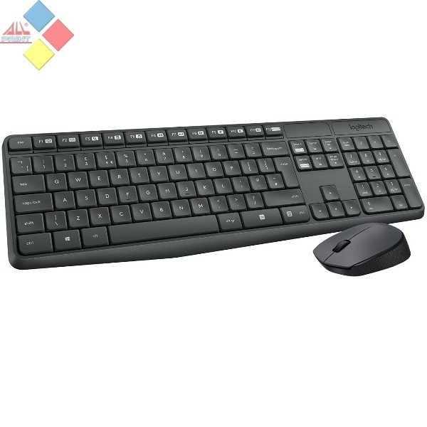 LOGITECH WIRELESS COMBO MK235 NEGRO USB